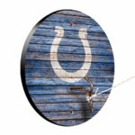 Indianapolis Colts Weathered Design Hook And Ring Game