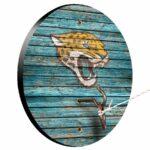 Jacksonville Jaguars Weathered Design Hook And Ring Game
