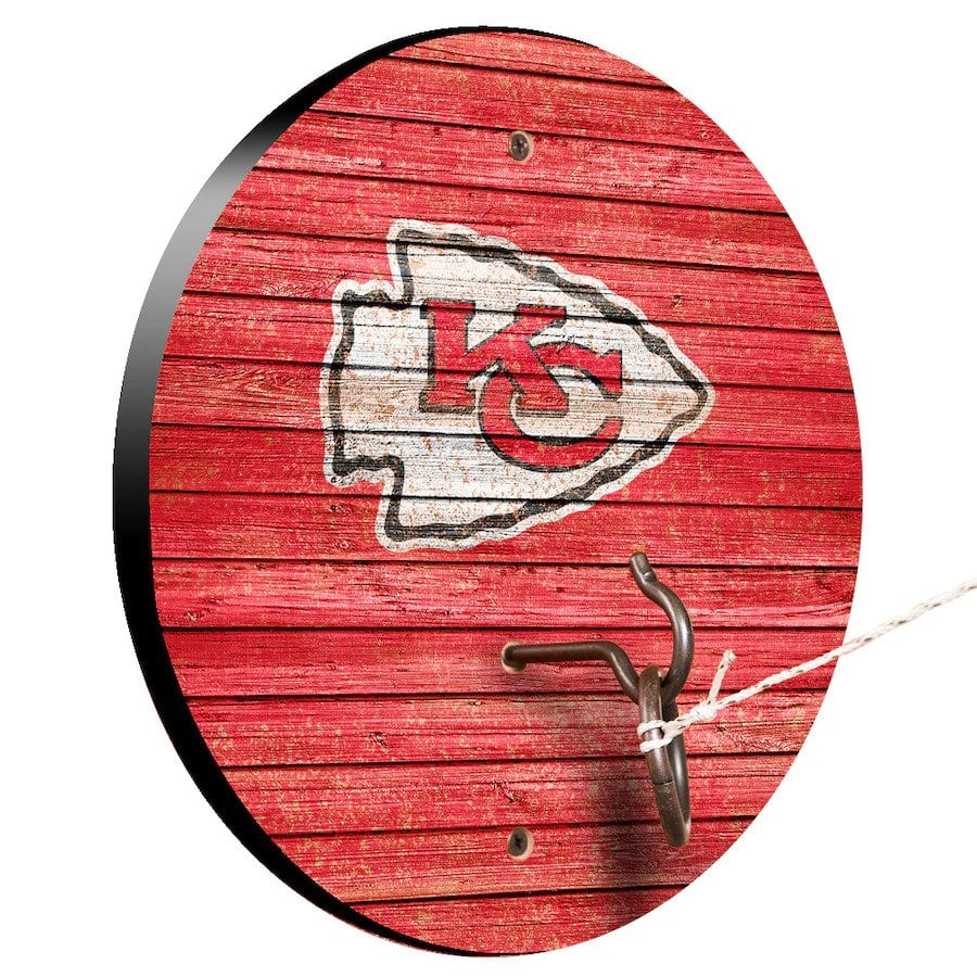 Kansas City Chiefs Weathered Design Hook And Ring Game