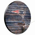 New England Patriots Weathered Design Hook And Ring Game