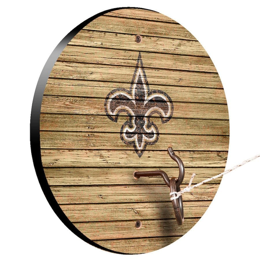 New Orleans Saints Weathered Design Hook And Ring Game