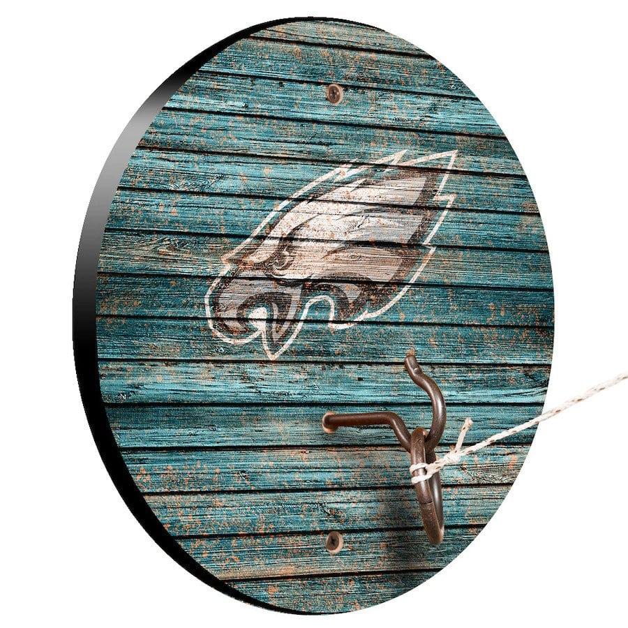 Philadelphia Eagles Weathered Design Hook And Ring Game
