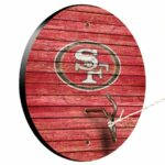 San Francisco 49ers Weathered Design Hook And Ring Game