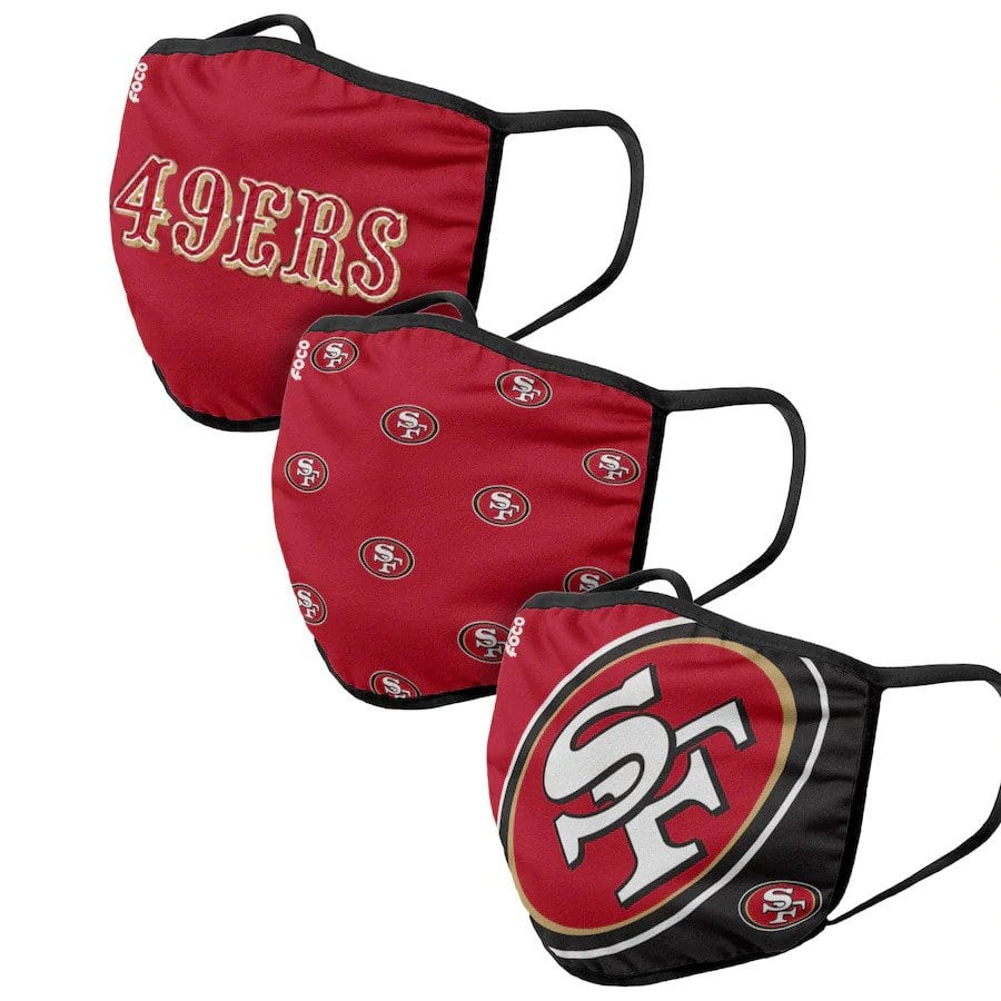 San Francisco 49ers Face Coverings
