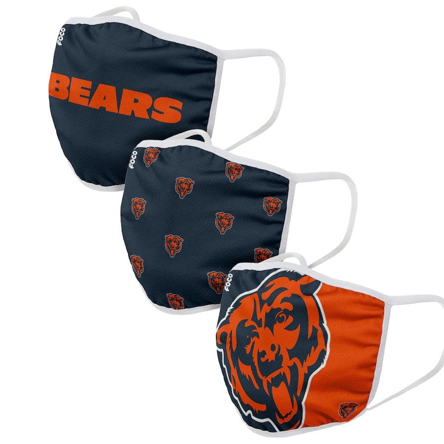Chicago Bears Face Coverings