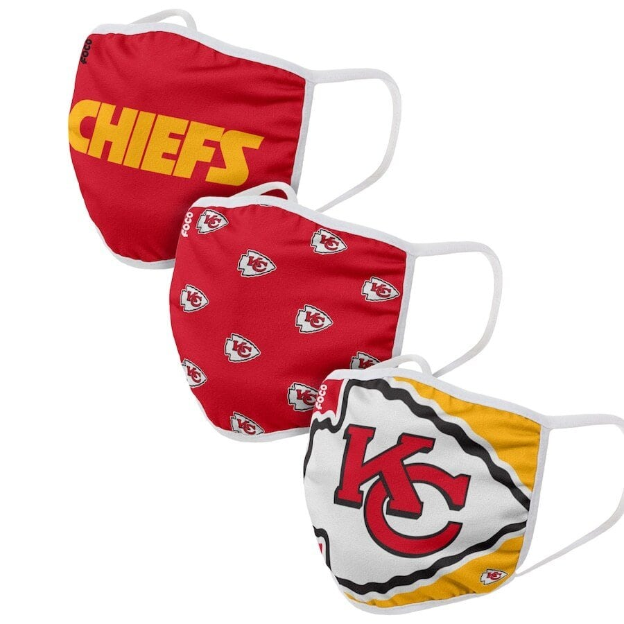 Kansas City Chiefs Face Coverings