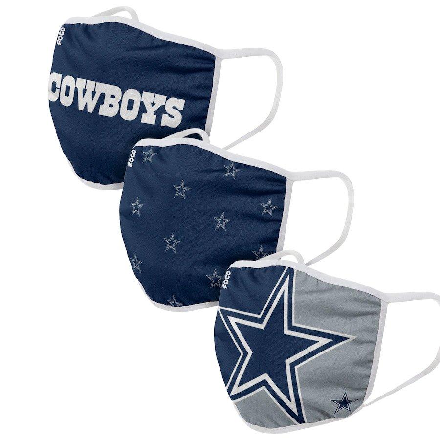 Dallas Cowboys Face Coverings