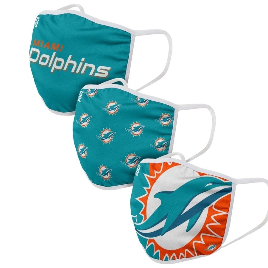 Miami Dolphins Face Coverings