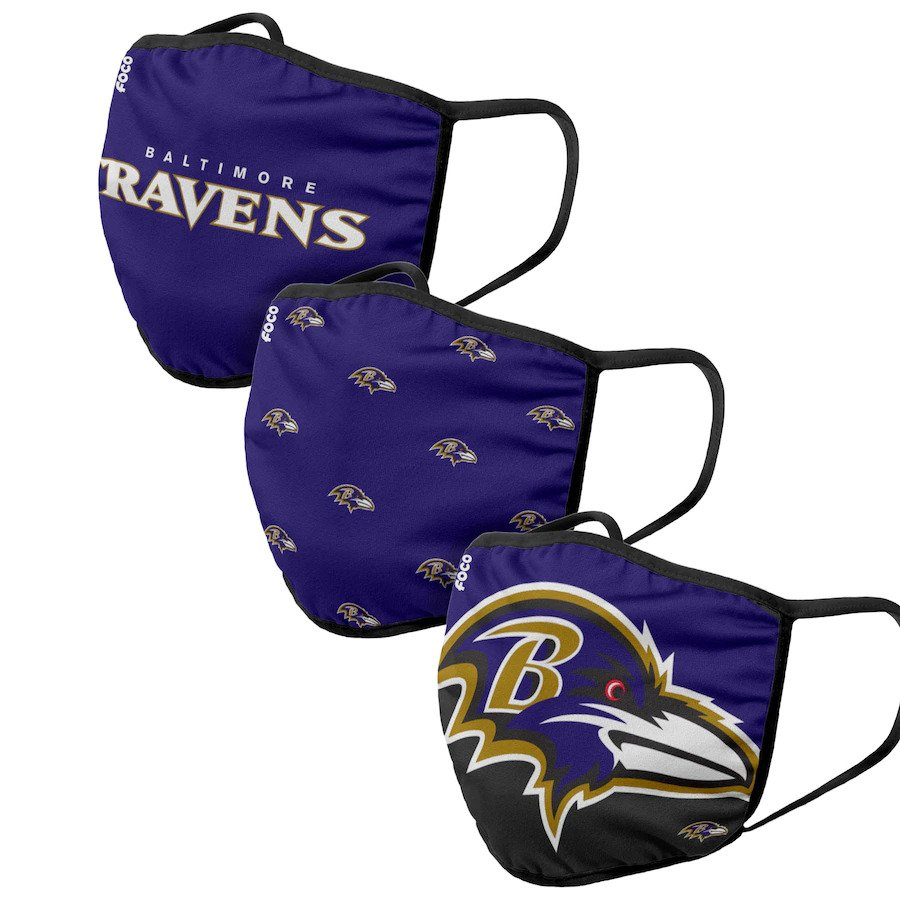 Baltimore Ravens Face Covering