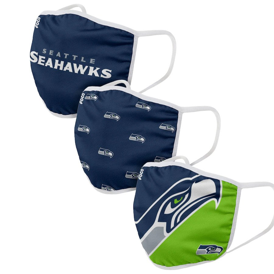 Seattle Seahawks Face Covering