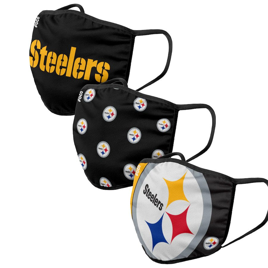 Pittsburgh Steelers Face Coverings