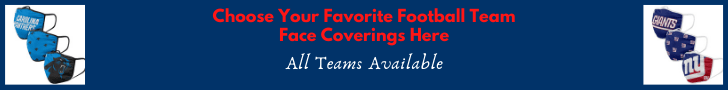 Choose Your Favorite Team Face Covering